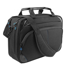 Laptop bag 15.6 inch laptop briefcase laptop messenger bag water repellent computer case laptop shoulder bag
