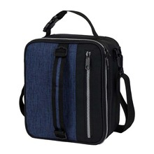 Thermal Insulated Lunch Bag Durable Lunch Box Compact Soft Leakproof Work Lunch Pail Picnic Cooler Bag