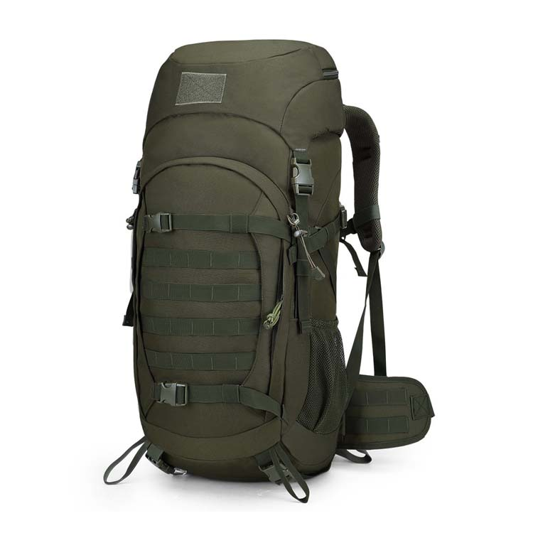 Large Capacity Molle Hiking Internal Frame Pack Tactical Camping Military Backpack