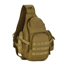 Tactical Military Sling Chest Daypack Crossbody MOLLE Laptop Pack Large Shoulder Gear Sling Bag