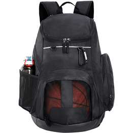 Large Sports Backpack with Pocket for Swim Outdoor Gym Basketball