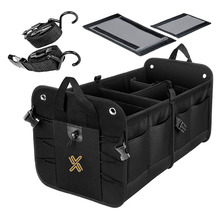 Collapsible Car Storage Portable Multi Compartments Car Trunk Organizer