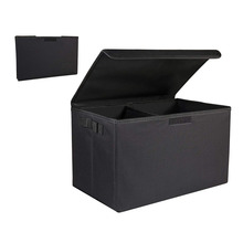Collapsible Portable Cargo Storage Container Multipurpose Sturdy Organizer for SUV Car Trunk Organizer