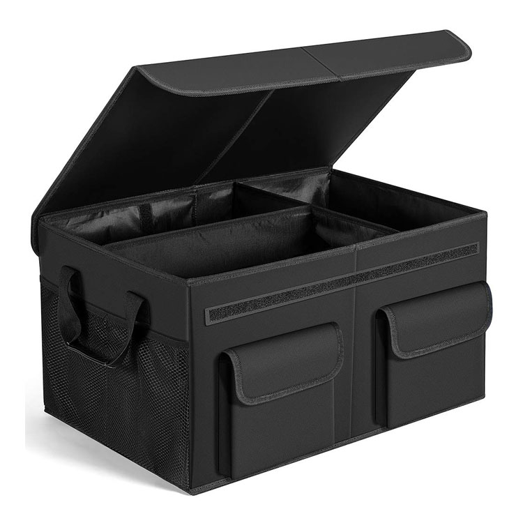 Foldable Cargo Trunk Storage with Durable Cover Washable Storage for Car Trunk Organizer