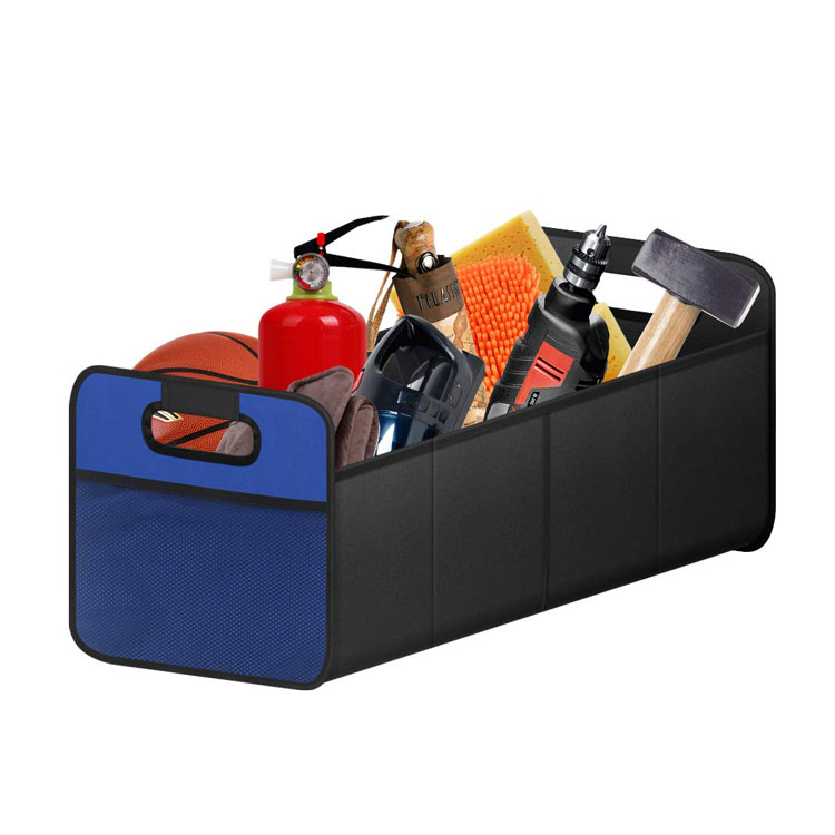 Portable and Collapsible Car Storage for Home and Office Car Trunk Organizer