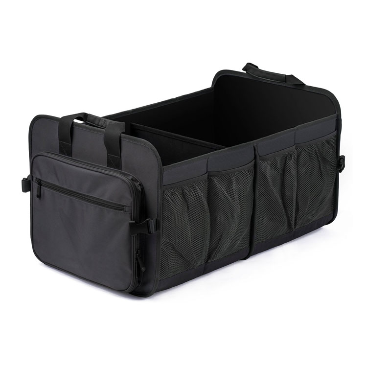 Washable Automotive Water Resistant Storage Foldable Box Suitable for SUV Car Trunk Organizer