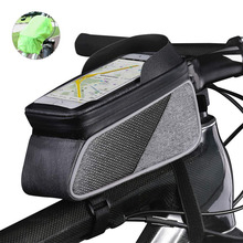 Bike Top Tube Phone Frame Bag Sensitive Touch Screen Water Resistant Bicycle Phone Bag