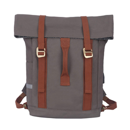 Water Resistant Canvas Laptop Bag Bike Messenger Pannier Backpack Shoulder Bicycle Shopper Bag