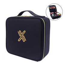 Travel Makeup Cosmetic Cases Organizer Portable Storage Pack for Makeup Brushes Toiletry Travel Bag