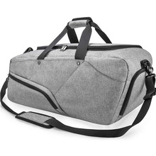 Gym Bag Sports Duffle Bag with Shoes Compartment Waterproof Large Travel Duffel Bags