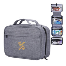 Large Capacity Cosmetic Wash Bag Perfect for Travel Organize Daily Use Hanging Toiletry Bag