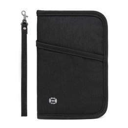 Passport Wallet RFID Blocking Travel Organizer Bag Family Passport Holder Case Travel Wallet