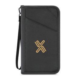 RFID Blocking Passport Holder Travel Document Pouch Organizer Case Travel Wallet