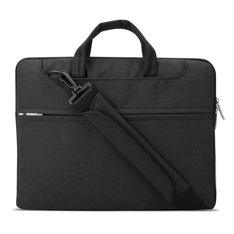 Water Resistant Laptop Shoulder Bag Notebook Sleeve Case Compatible Protective Business Briefcase