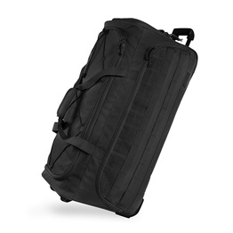 Large Tactical Rolling Duffel Bag Heavyweight Durable Trolley Bag