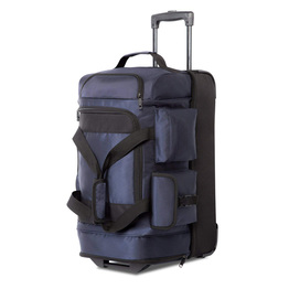 Rolling Duffel Travel Duffel Bag Wheeled Suitcase Luggage Trolley Bag