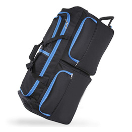 Large Rolling Duffel Bag Organizer Outdoor Durable Trolley Bag