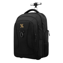 Rolling Backpack Wheeled Laptop Rucksack for Travel Carryon Trolley Luggage Suitcase Compact Business Bag Trolley Bag