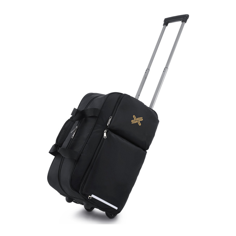 Rolling Duffel Bag Water Repellent Wheeled Duffel Carry On Luggage Travel Trolley Bag