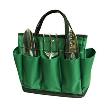Garden Tote Large Organizer Bag with Side Pockets and Handles