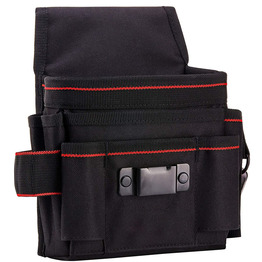 Heavy Duty Canvas Tool Pouch Bag with 7 Roomy Pockets