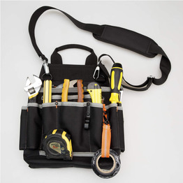 Professional Tool Pouch Shoulder Tool Carrier  bag with Multiple Pockets