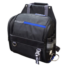 Tool bag with Shoulder Strap Wide Mouth Tool Storage bag