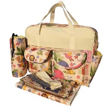 Multifunction Waterproof Mummy Baby Diaper Nappy Changing Tote Shoulder Handbag