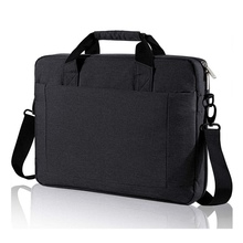 Laptop Shoulder Messenger Bag Expandable Computer Handbag Water Resistant Carrying Briefcase
