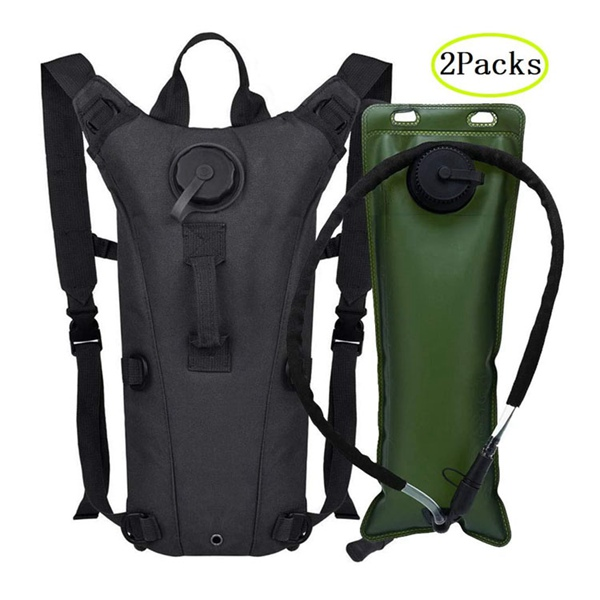 Tactical Backpack Hydration Carrier Rucksack Military Leakproof for Running Jogging Cycling Hiking Hydration Bag