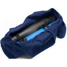 Large Yoga Mat Tote Sling Carrier with Multi Functional Storage Pockets Light and Durable Yoga Bag