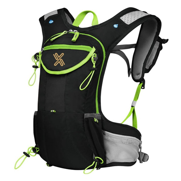 Running Backpack for Hiking Cycling Climbing with Multiple Storage Compartment Hydration Bag