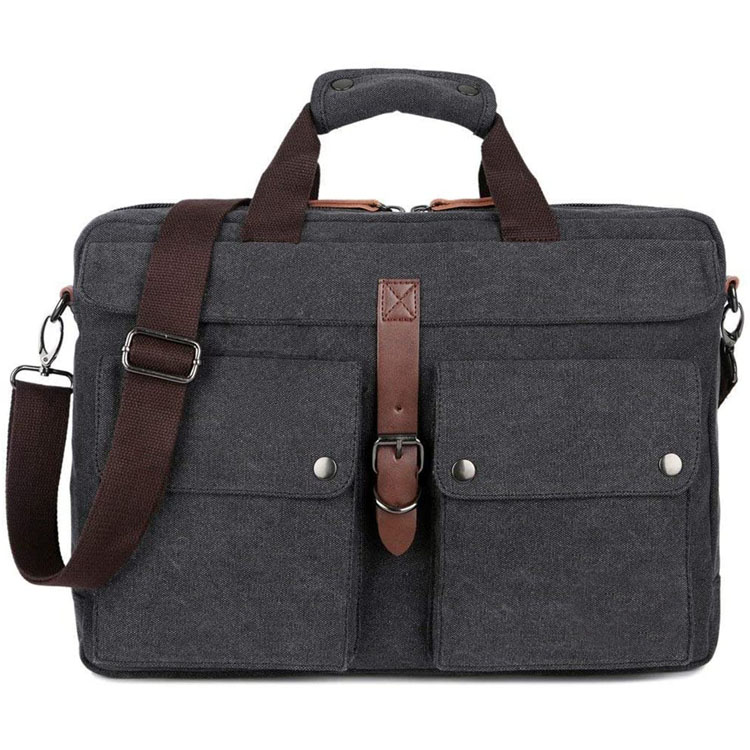 17inch Canvas Laptop Computer Bag Messenger Bag