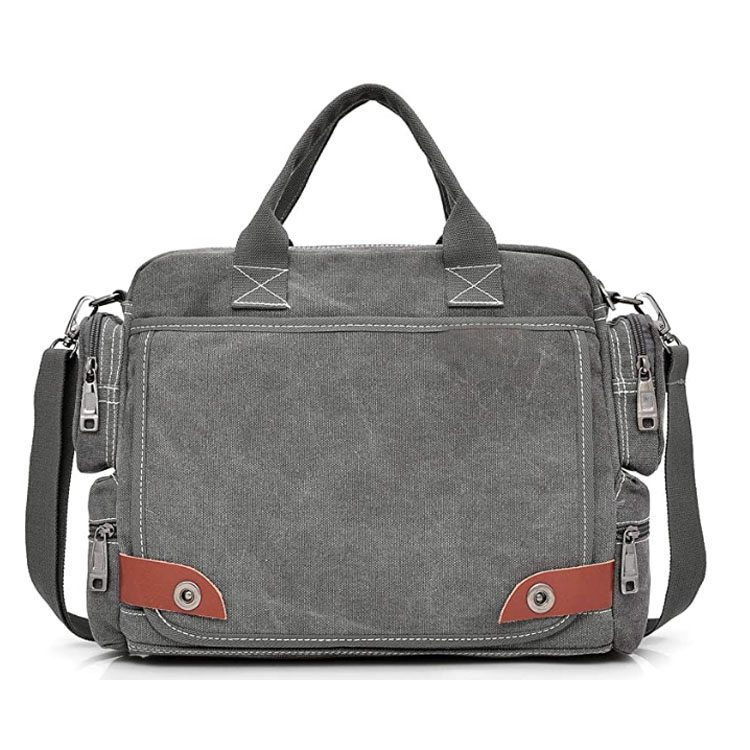 Canvas Satchel Vintage Shoulder Messenger Bag