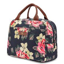 Lunch Bag Cooler Bag Women Tote Bag Insulated Lunch Box Water