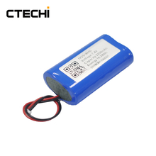 Rechargeable 18650 7.4v 2200mAh lithium battery pack
