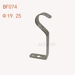 BF074,Iron curtain rod bracket