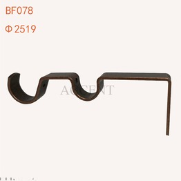 BF078,Iron curtain rod bracket