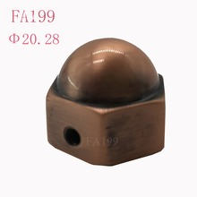FA199,aluminum alloy curtain rod finial