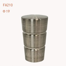 FA210,aluminum alloy curtain rod finial