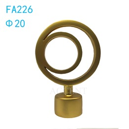 FA226,aluminum alloy curtain rod finial