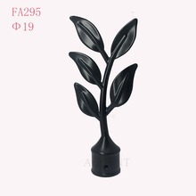 FA295,aluminum alloy curtain rod finial