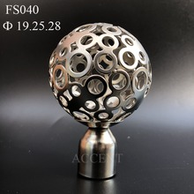 FS040,Iron curtain rod finial