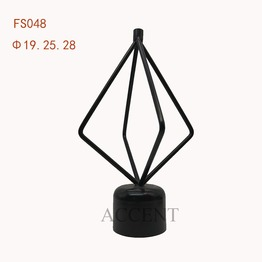 FS048,Iron curtain rod finial