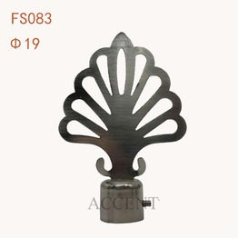 FS083,Iron curtain rod finial
