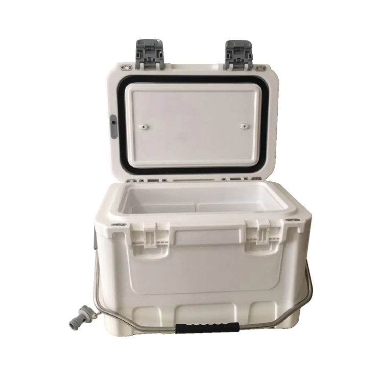 Multi-function Plastic Roto molded Insulted MAGIC COOLER BOX with Dual Open Removable Lid Design Beer Picnic Outdoor Usage