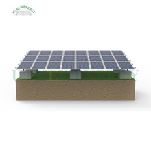 SG1 aluminum ground solar mounting structure