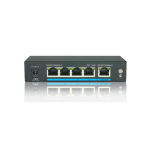 4+1 Ports Full Gigabit POE Switch With External Power Supply