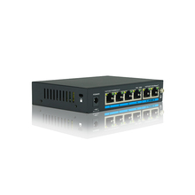 Gigabit Ethernet 4+2 Ports PoE Switch Oem IP Transmission