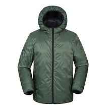 nylon casual down jacket
